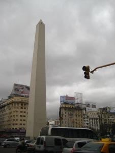 El Obelisco, on Ave 9 de Julio