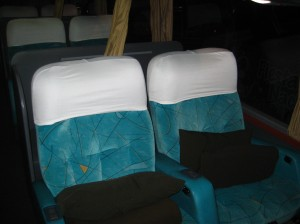"Night bus to Iguazu (""Suite"" class)"