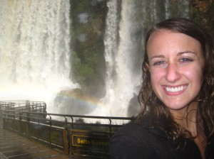 Soaked from the falls