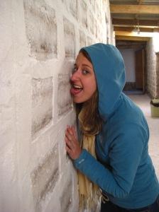 Walls made of salt...mmmm...