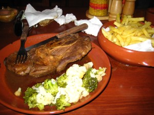 The llama steak that ruined my jeans!