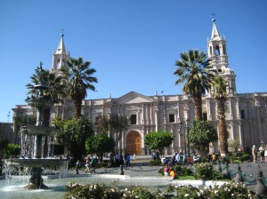 Plaza de Armas (the cathedral)
