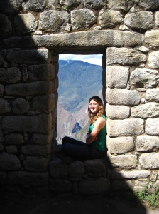 Hanging out in an Inca window