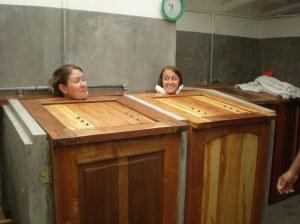 Eucalytpus steam bath