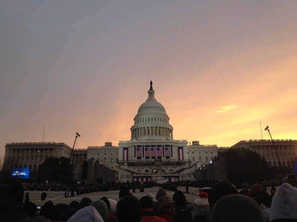 Inauguration sunrise