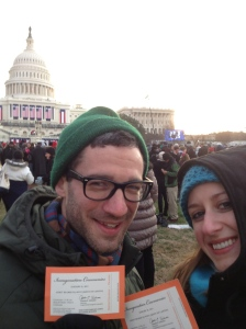 Tickets to the Inauguration!