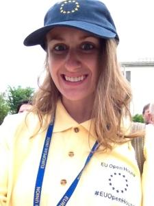 Rachael, the dork Social Media Reporter for #EUOpenHouse