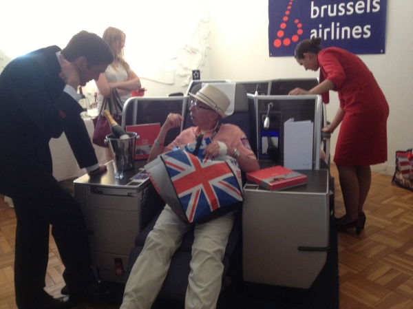 Flying in style at the Belgian Embassy - EU Open House