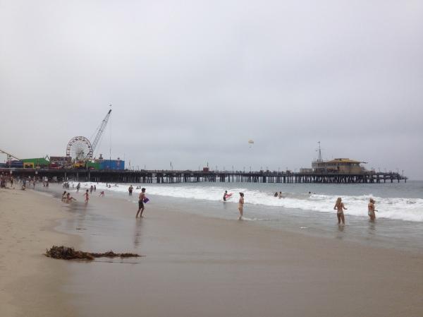 Santa Monica Beach & Santa Monica Pier