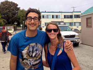 My sole celebrity encounter in Los Angeles: Kassem G at Venice Beach