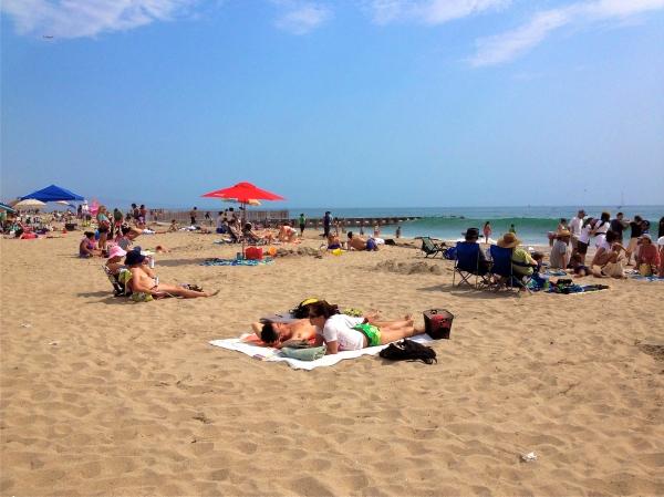 Playa del Rey Beach near Los Angeles, Calif.