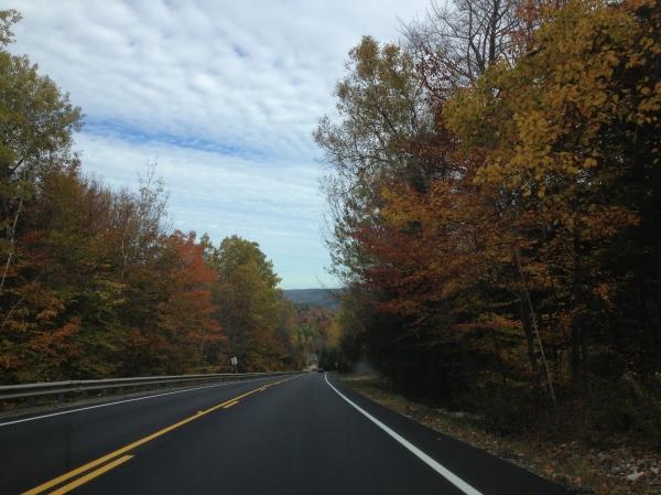 New England back roads