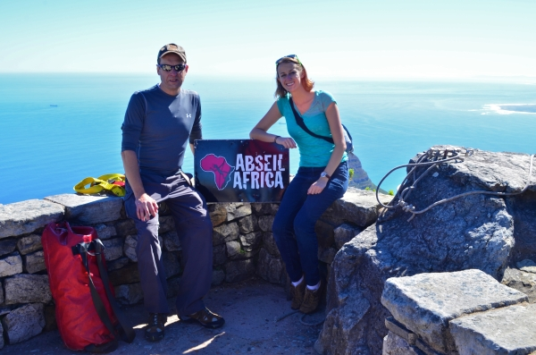 Abseil Africa at Table Mountain in Cape Town, South Africa