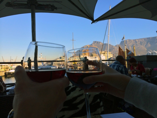 Dining in Cape Town with a view of Table Mountain
