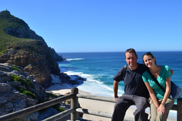 Walking to Cape Point Lighthouse
